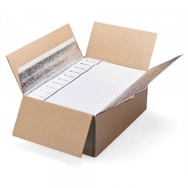"Photo Female rectal suppositories SCHALI®-FL, 200 PCs, opened cardboard box ""T"" #10"