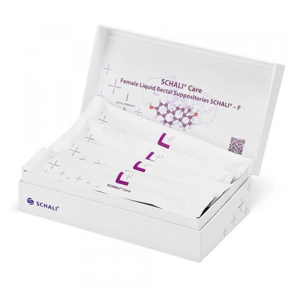 Photo Female liquid rectal suppositories SCHALI®-FM, 16 PCs, opened Show box