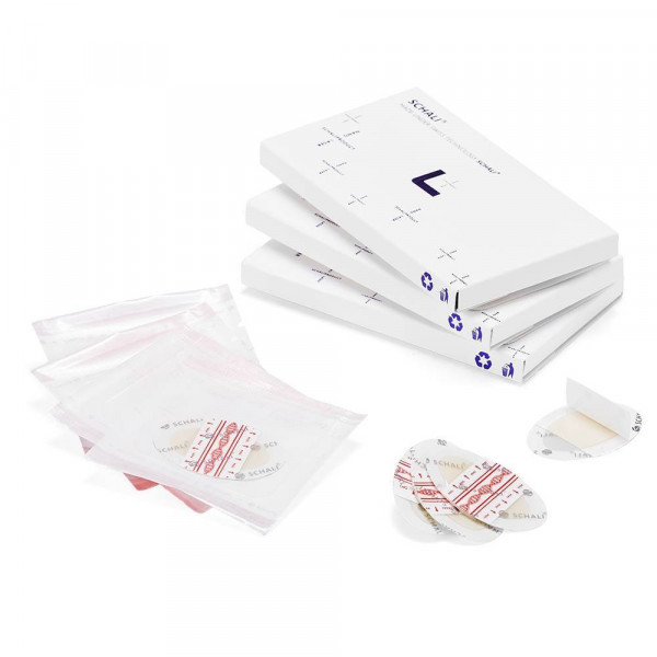 """Photo plaster HMP SCHALI® H1 """"120/80 + Heart rate"""", 8 PCs"""