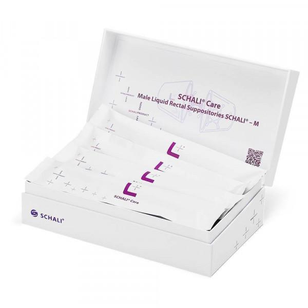 Photo Male liquid rectal suppositories SCHALI®-MV, 16 PCs, opened Show box